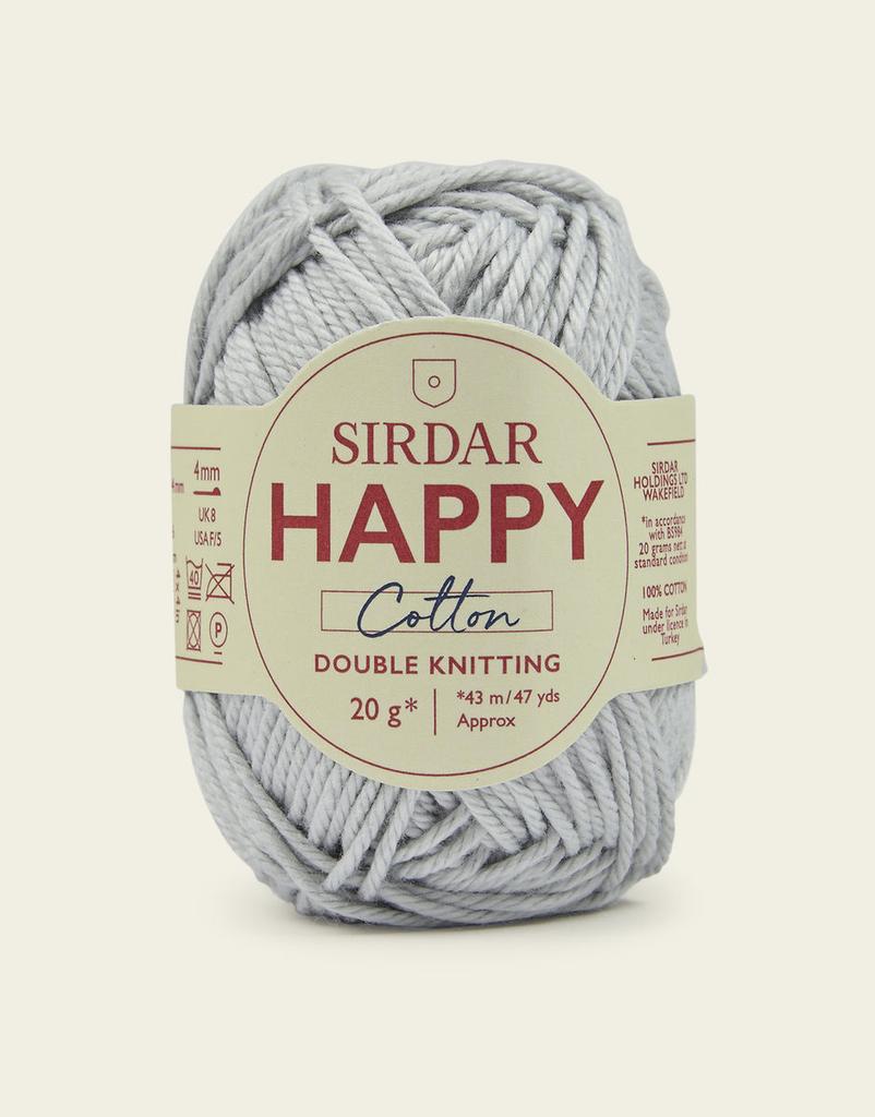 Sirdar Happy Cotton, Moonbeam 757