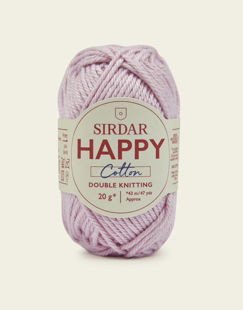 Sirdar Happy Cotton, Flamingo 760