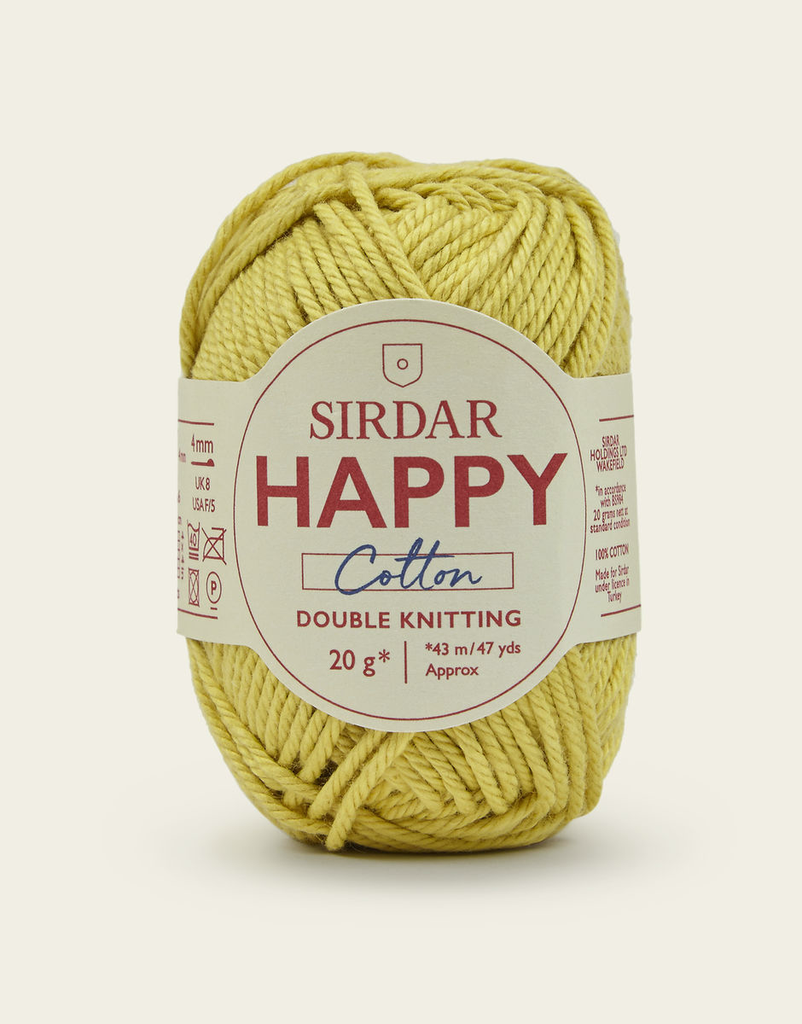 Sirdar Happy Cotton, Buttercup 771