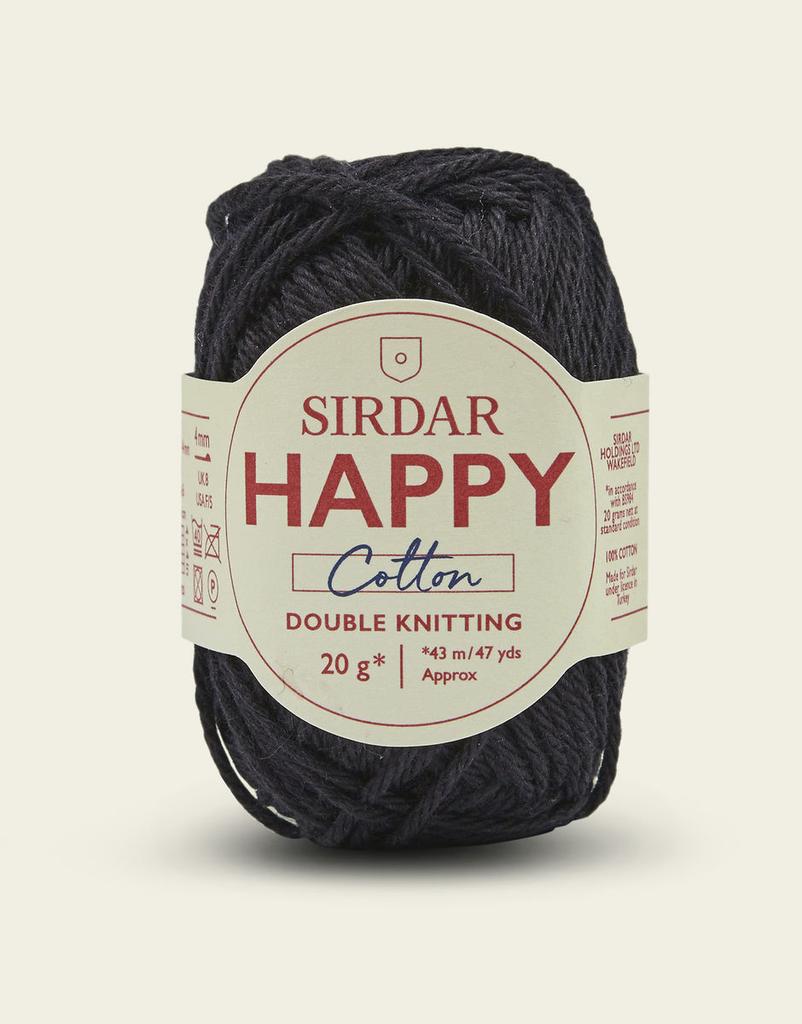Sirdar Happy Cotton, Liquorice 775