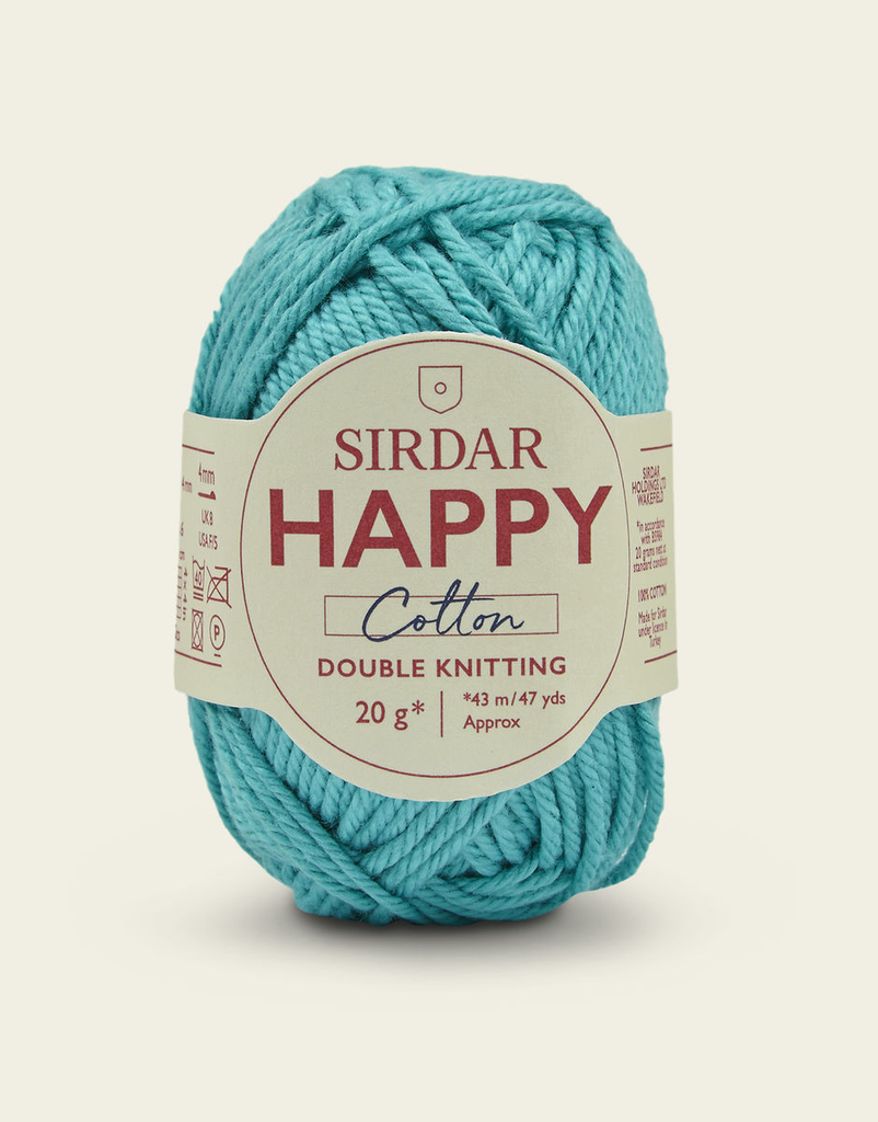 Sirdar Happy Cotton, Seaside 784