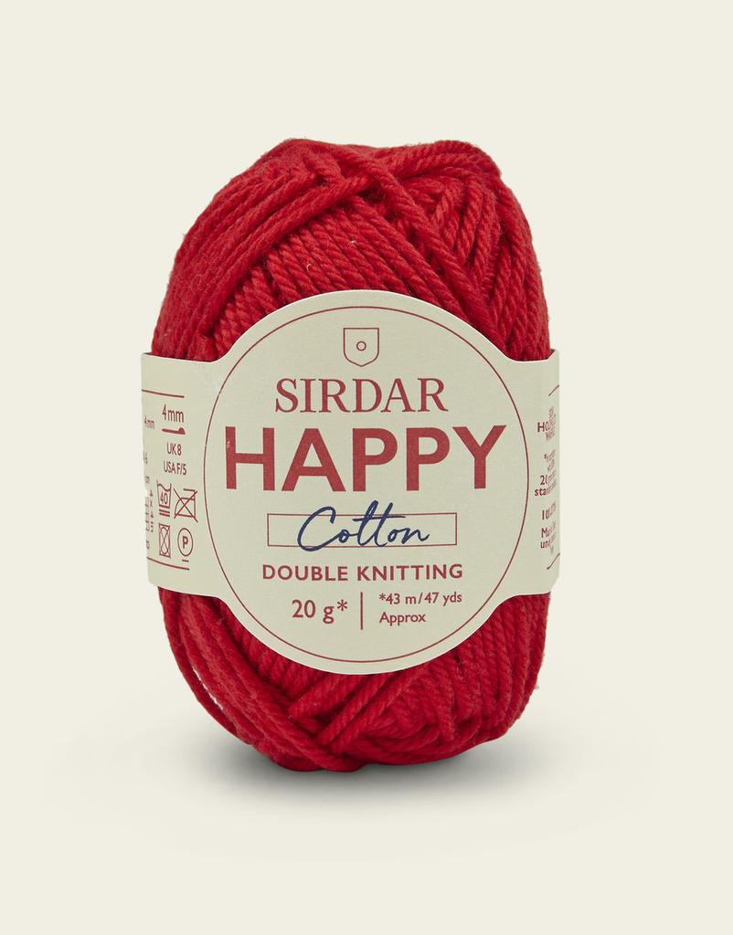 Sirdar Happy Cotton, Lippy 789