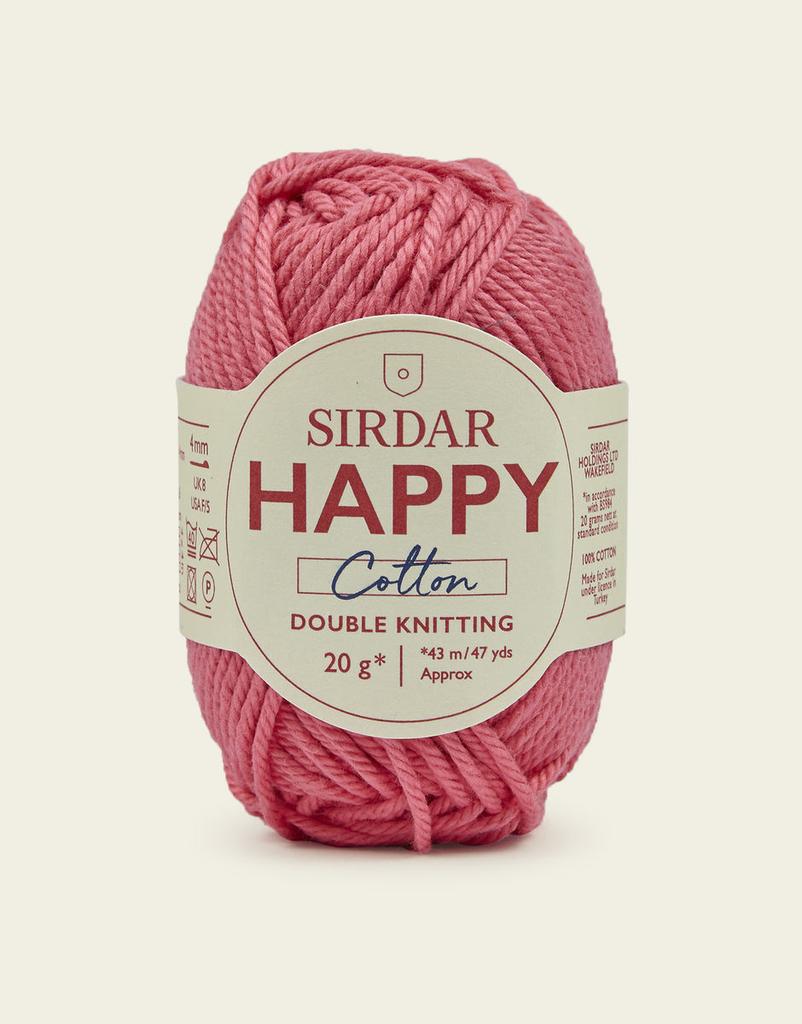 Sirdar Happy Cotton, Bubblegum 799