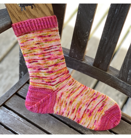 Forever Pink Designs Forever Pink Designs, Vanilla Cuff Down After-Thought Heel Sock Pattern