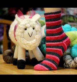 Forever Pink Designs Forever Pink Designs, Vanilla Cuff-Down Sock Pattern