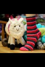 Forever Pink Designs Forever Pink Designs, Vanilla Toe-Up Sock Pattern