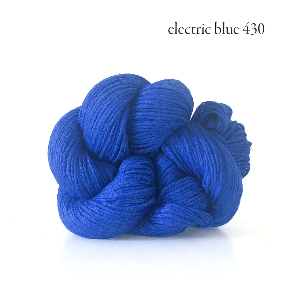 Kelbourne Woolens Mojave, Electric Blue 430