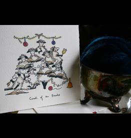 Knit Baah Purl Single Card, Carol of the Baahs