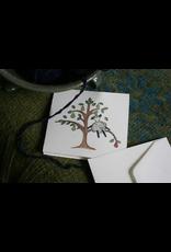 Knit Baah Purl Single Card, Little Lamb in a Pear Tree