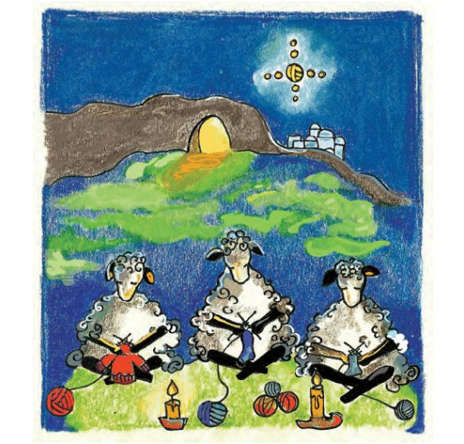 Knit Baah Purl Single Card, Knitivity