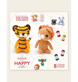 Sirdar Happy Cotton Book 1 - One Shape, Two Ways