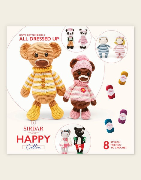 Sirdar Happy Cotton Book 6 - All Dressed Up 2