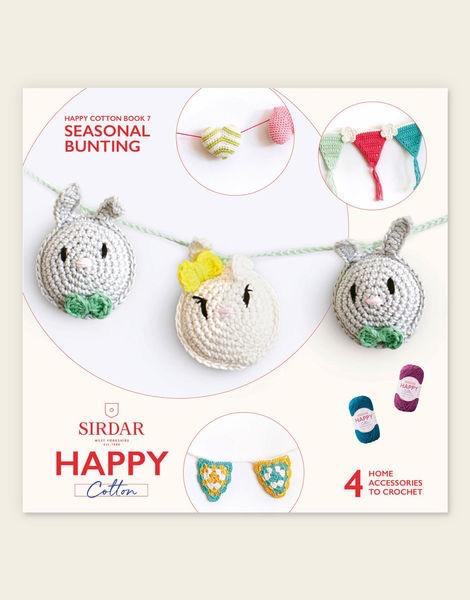 Sirdar Happy Cotton Book 7 - Seasonal Bunting 1