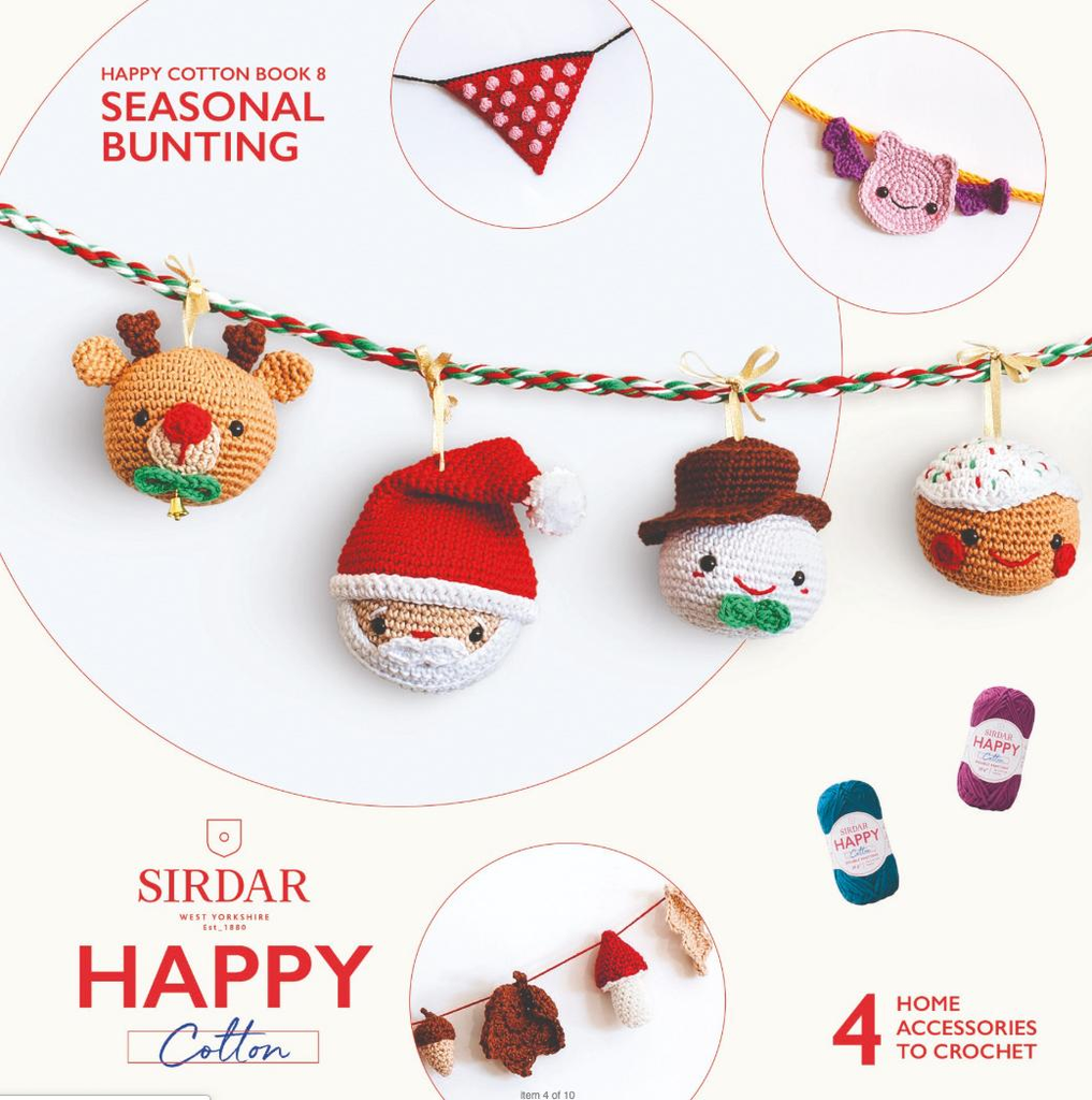Sirdar Happy Cotton Book 8 - Seasonal Bunting 2