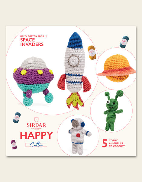 Happy Cotton Book 12 - Space Invaders