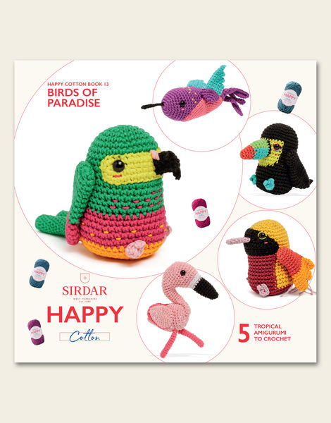 Happy Cotton Book 13 - Birds of Paradise