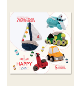 Happy Cotton Book 14 - Planes, Trains, and Automobiles