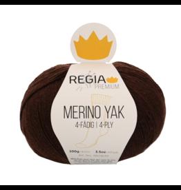 Schachenmayr Regia Premium Merino Yak, Schokolade Meliert (Chocolate Brown) #7522