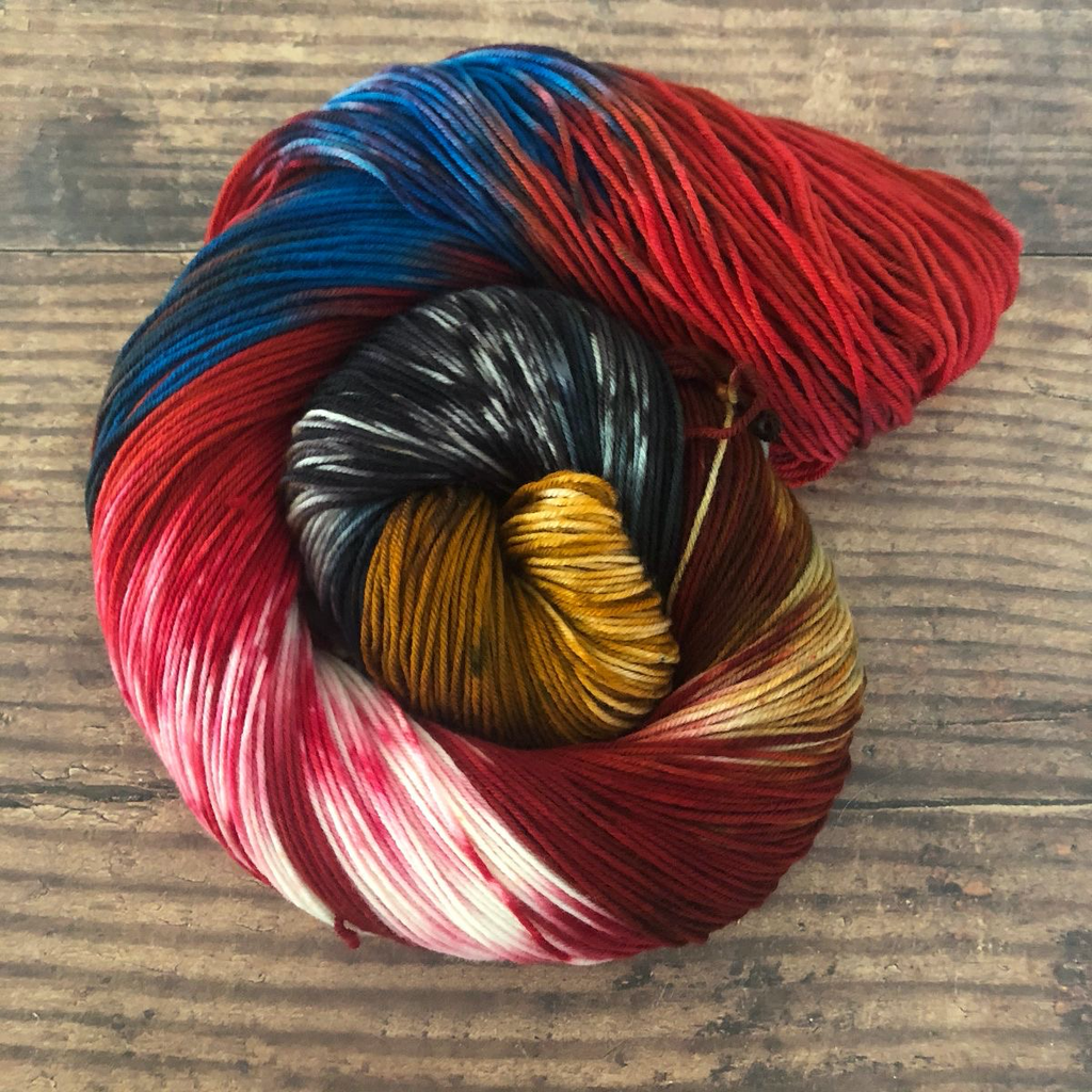 Knitted Wit HerStory Sock Club, DK: September 2020, Indigenous Excellence