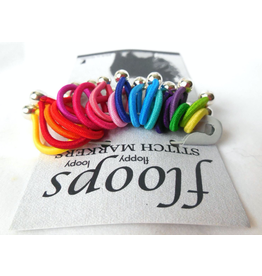 Floops Stitch Markers, Skinny Small, Brilliant