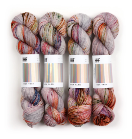 Hedgehog Fibres Hand Dyed Yarns Sock Yarn, Heron