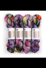 Hedgehog Fibres Hand Dyed Yarns Sock Yarn, Insomnia