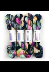 Hedgehog Fibres Hand Dyed Yarns Sock Yarn, Orion