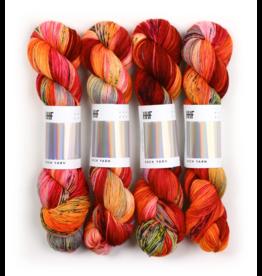 Hedgehog Fibres Hand Dyed Yarns Sock Yarn, Phoenix