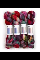 Hedgehog Fibres Hand Dyed Yarns Sock Yarn, Potion