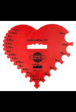 addi addi Needle Gauge - Heart