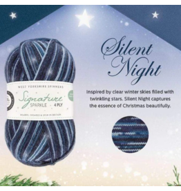 West Yorkshire Spinners Signature 4ply Sparkle, Silent Night