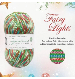 West Yorkshire Spinners Signature 4ply Sparkle, Fairy Lights