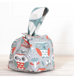 Binkwaffle Dumpling Bag - Small, Owl Party