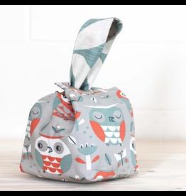 Binkwaffle Dumpling Bag - Medium, Owl Party