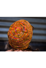 Knitted Wit The ShannaJean Club, December 2020. Keep Slipping Hat & Mitts - Coral Cove Colorway