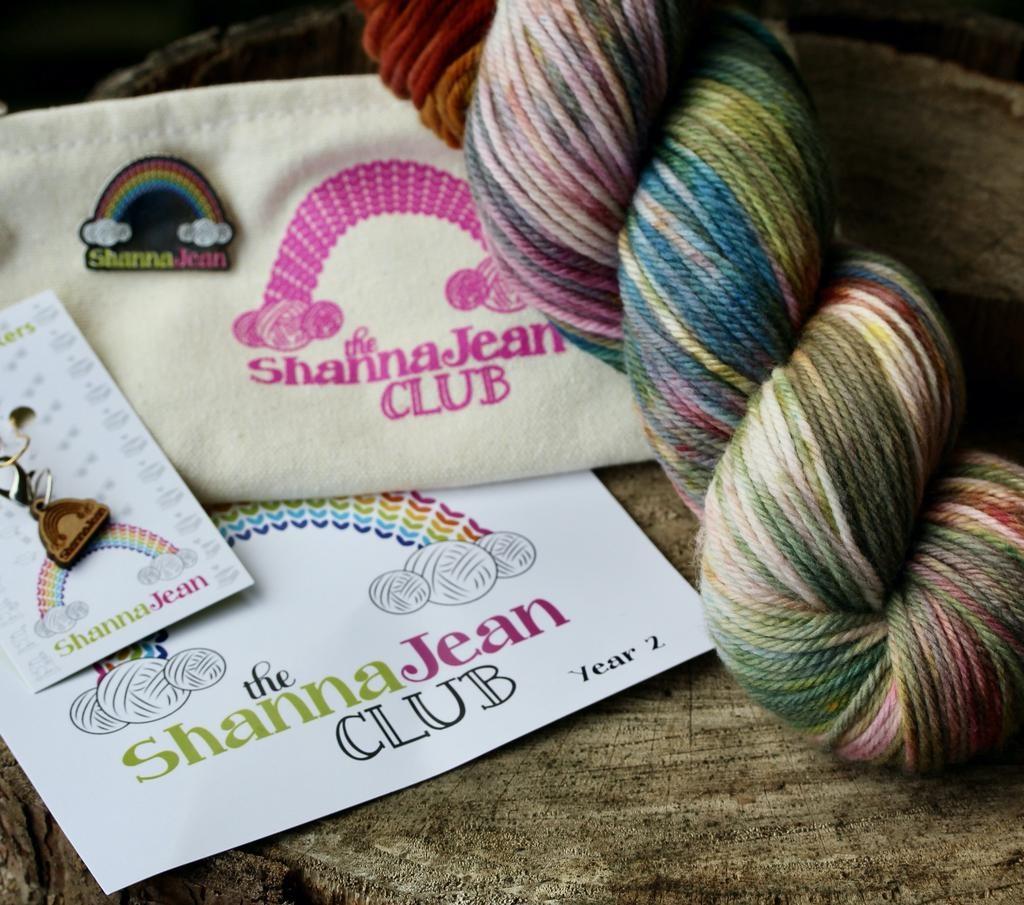 Knitted Wit The ShannaJean Club Year 2, Intro Kit + Yarn