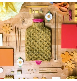Kelbourne Woolens Year of Gifts, November Kit - Chrysanthemum Water Bottle Cover
