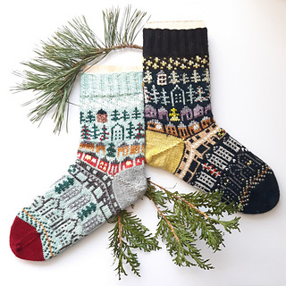 A Sock Knitter's Countdown to Christmas