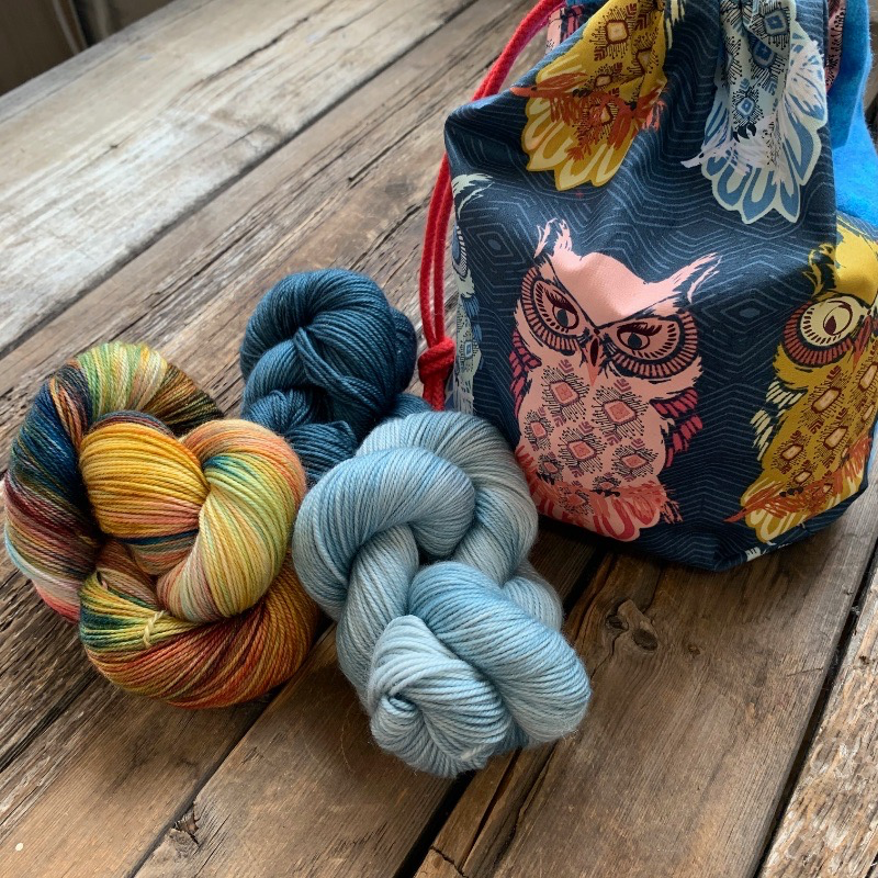 Dream in Color Nest & Burrow Cowl Kit, Hoot