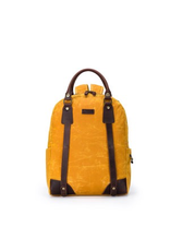 della Q Maker's Backpack, Mustard