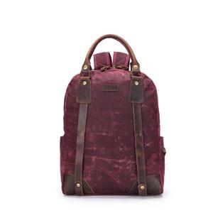 della Q Maker's Backpack, Red