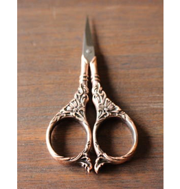 Botanical Garden Scissors in Antique Copper