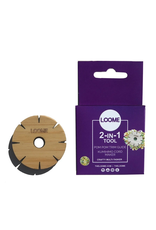 Loome The Loome 2-In-1 Tool: Pom Pom Trim Guide & Kumihimo Cord Maker