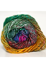 Noro Silk Garden, Jade, Gold, Magenta color 362 (Discontinued)