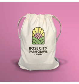 For Yarn's Sake, LLC 2021 Rose City Yarn Crawl Commemorative Backpack
