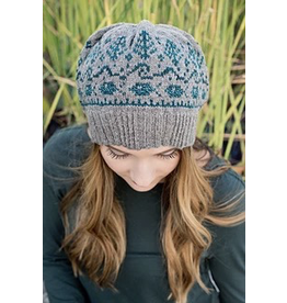 For Yarn's Sake, LLC McKenzie Hat Kit, End of Summer