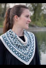 For Yarn's Sake, LLC Forest Mosaic Cowl, Goddess