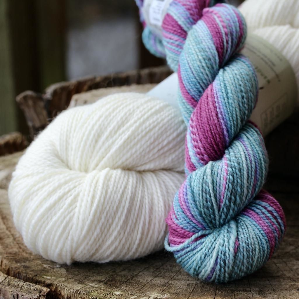 For Yarn's Sake, LLC Sparks Sock Kit, Goddess