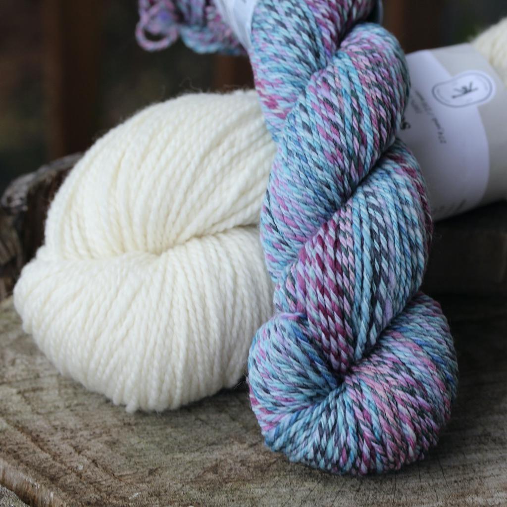 For Yarn's Sake, LLC Springfield Chevron Hat Kit, Highland Fleece
