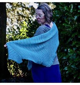 For Yarn's Sake, LLC 2021 RCYC Vesna Shawl Kit, Milkweed